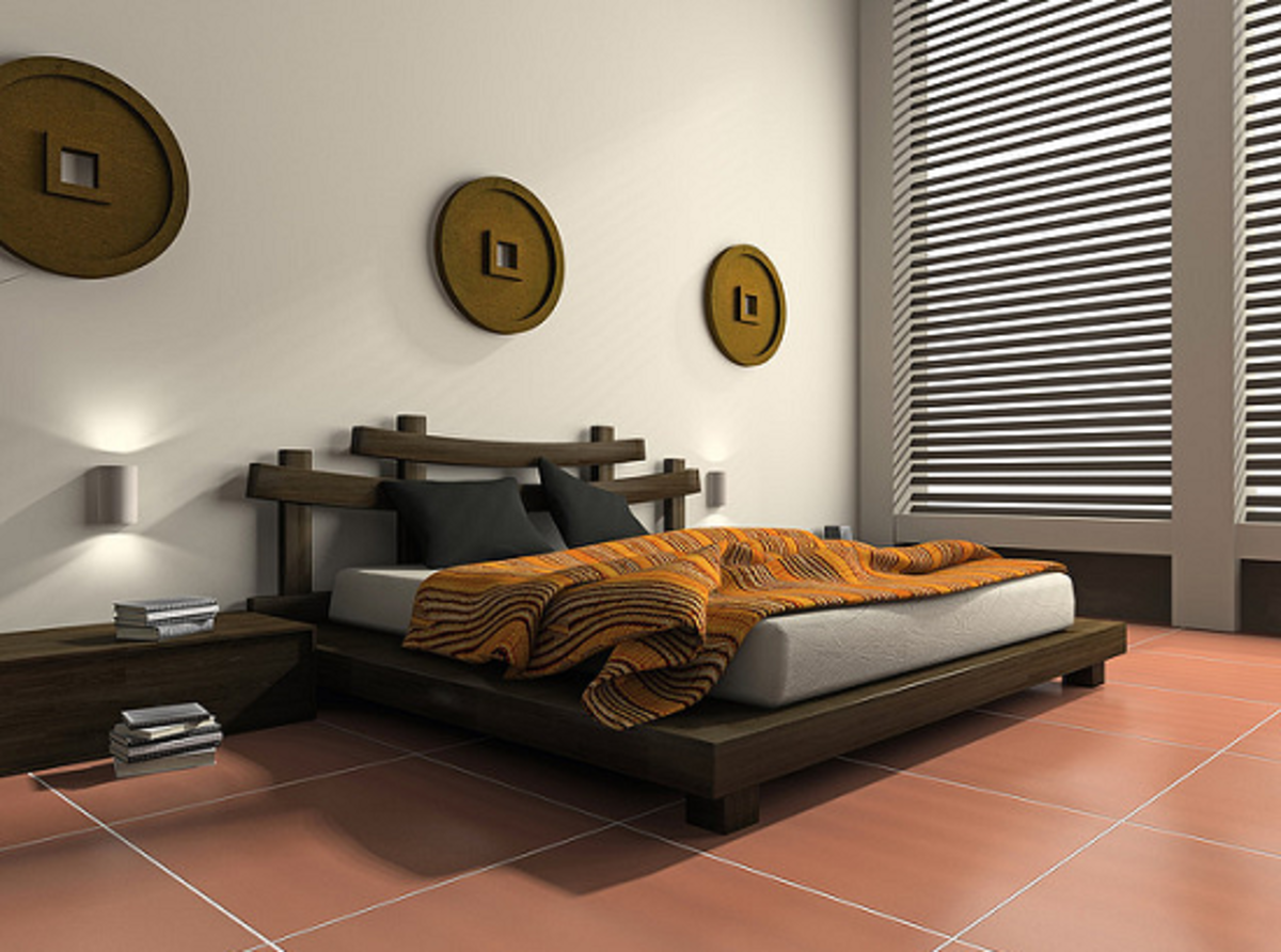 Modern Ethnic Bedroom Design
