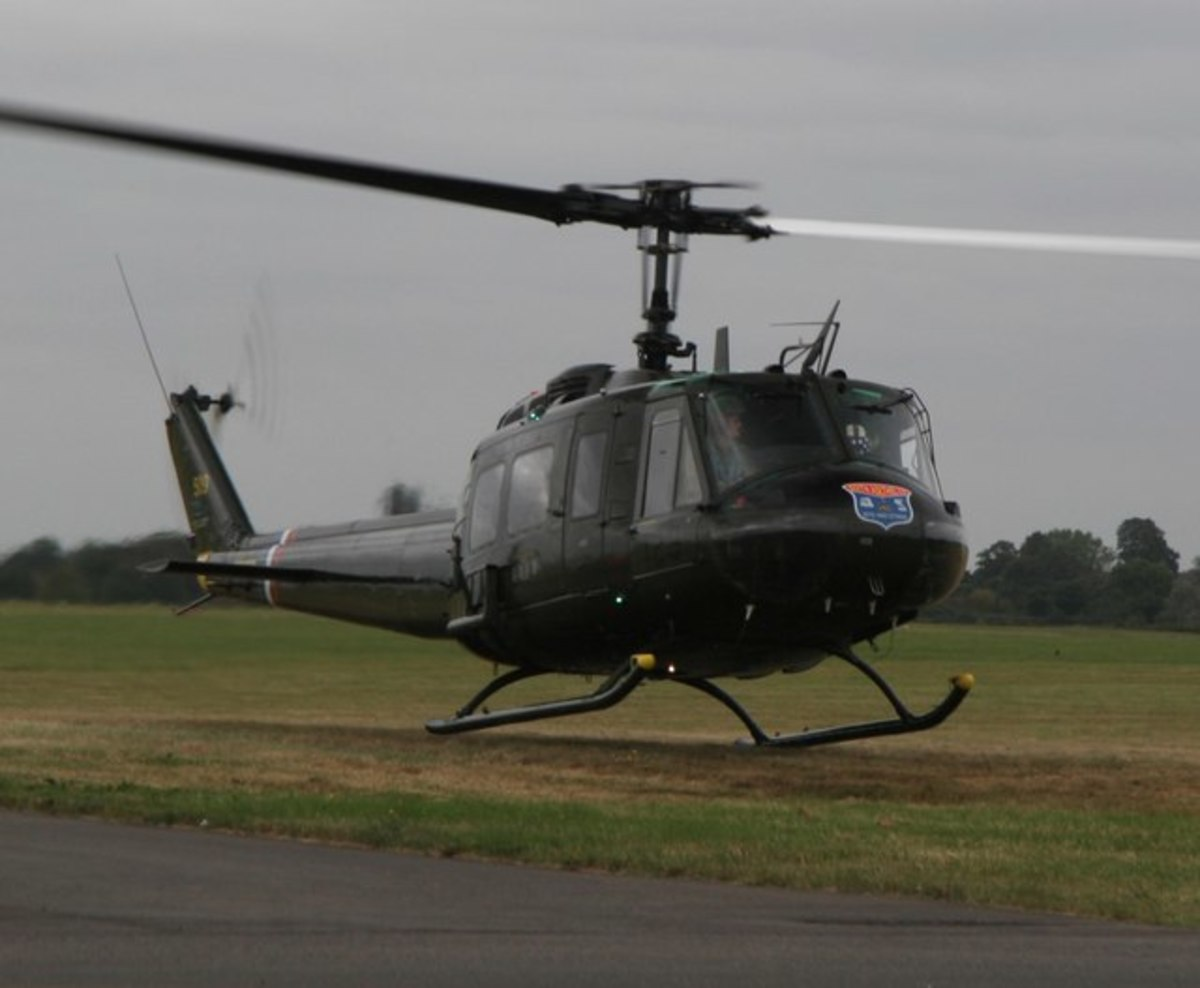 The Bell Helicopter Huey UH-1H Chickenhawk was an invaluable asset to allied forces during the Viet Nam and other conflicts.