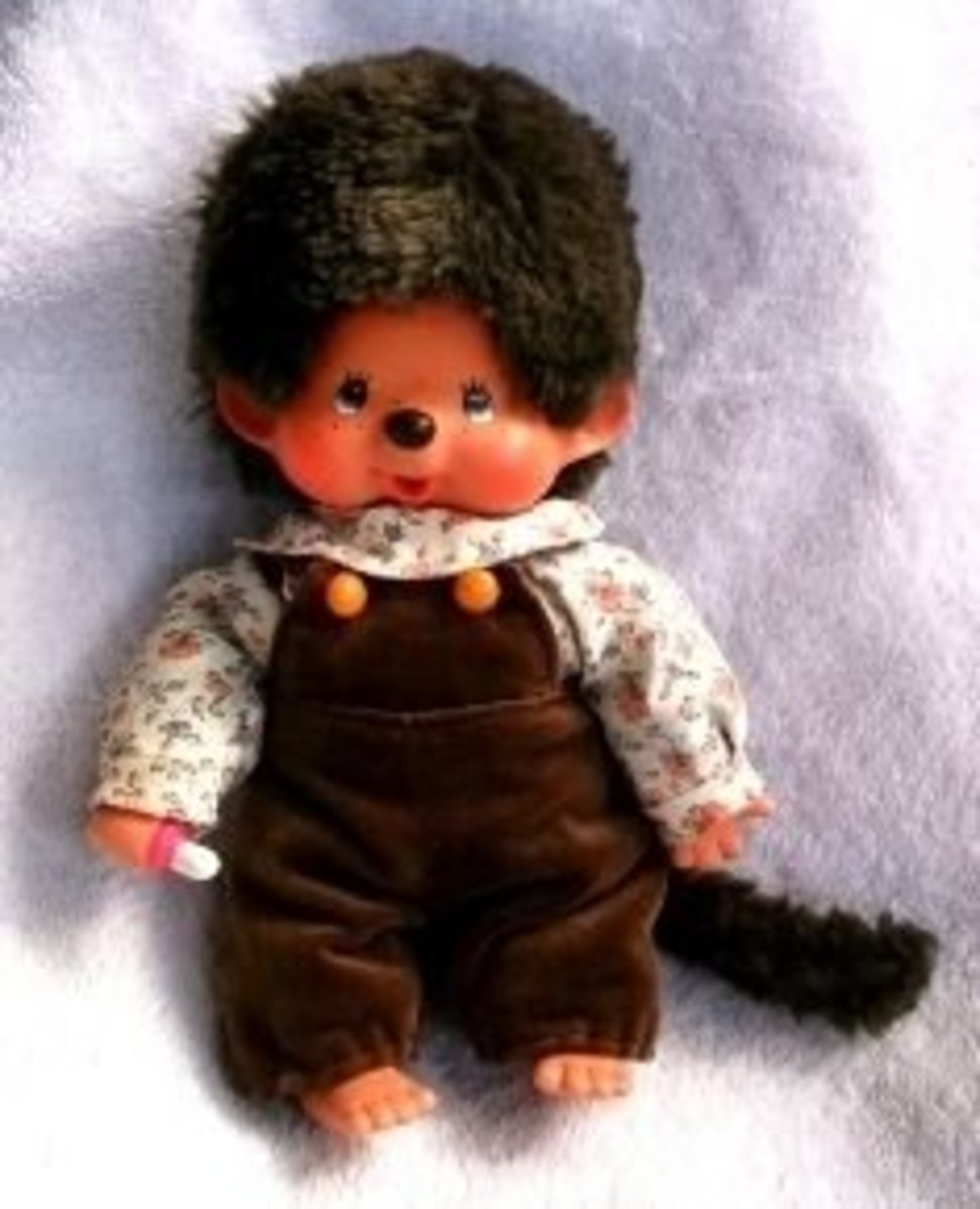 Mattel Monchhichi COUNTRY KID outfit