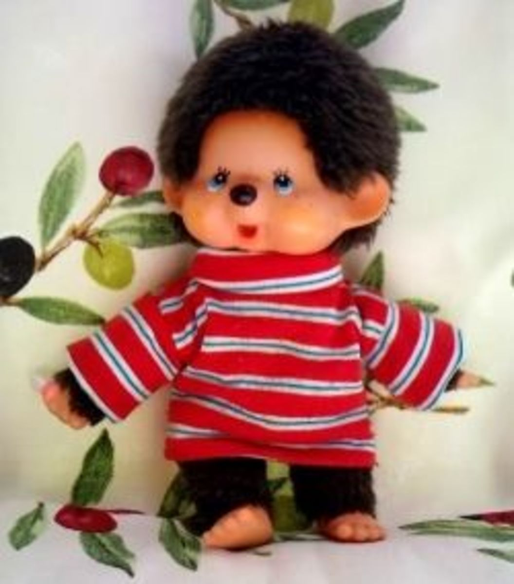 Collectors guide for Sekiguchi Monchhichi, monchichi plush toys