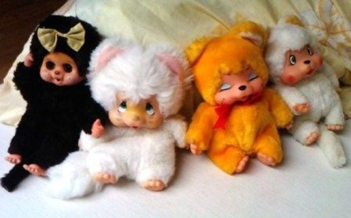 Monchhichi dolls