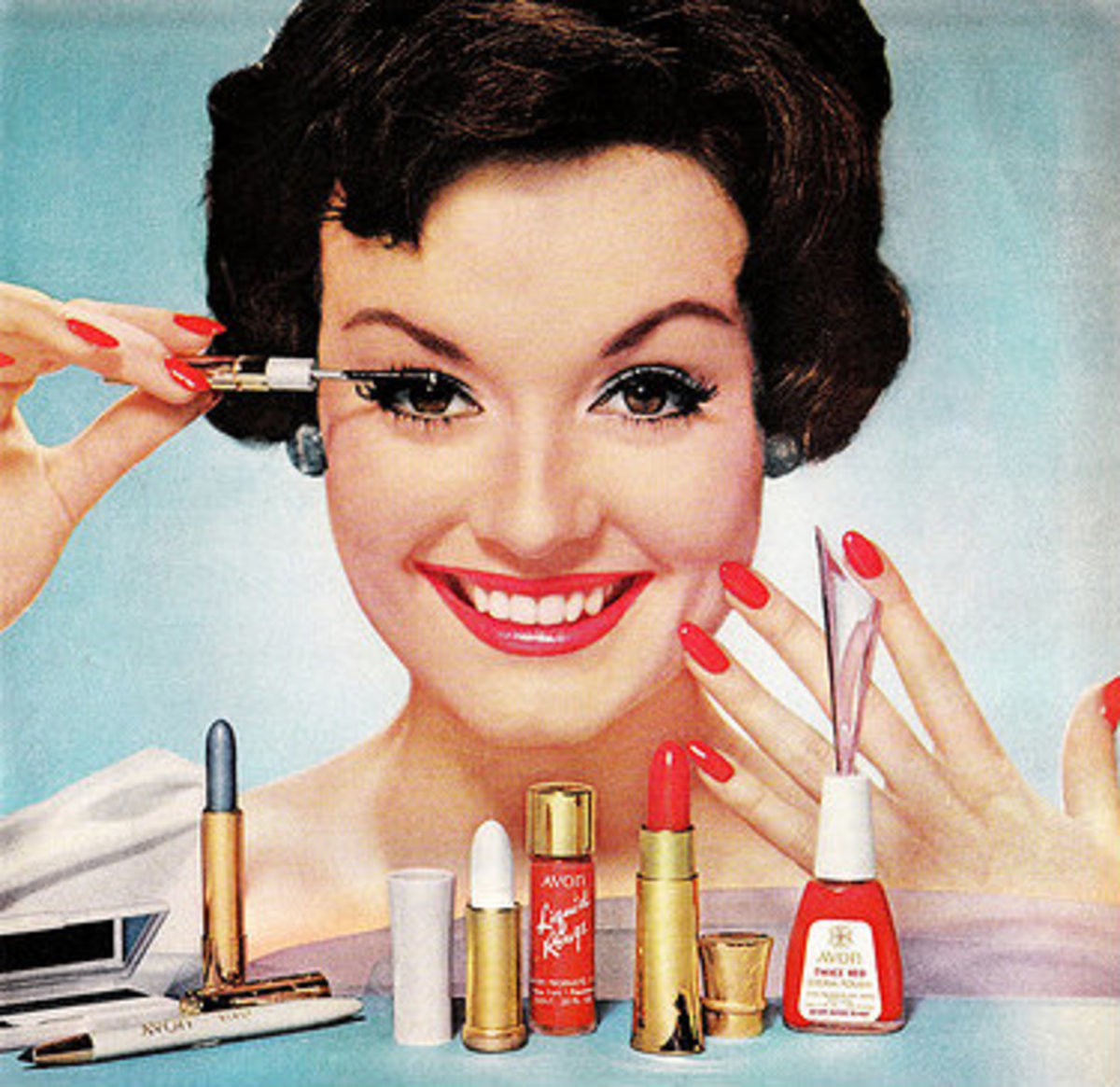 Makeup products could be the cause of an allergic reaction