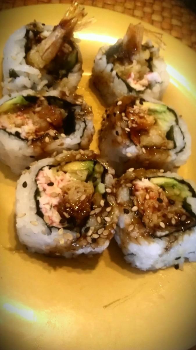 Favorite Fried Shrimp Sushi Recipes