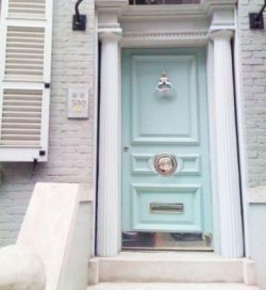 Direction of the Front Door