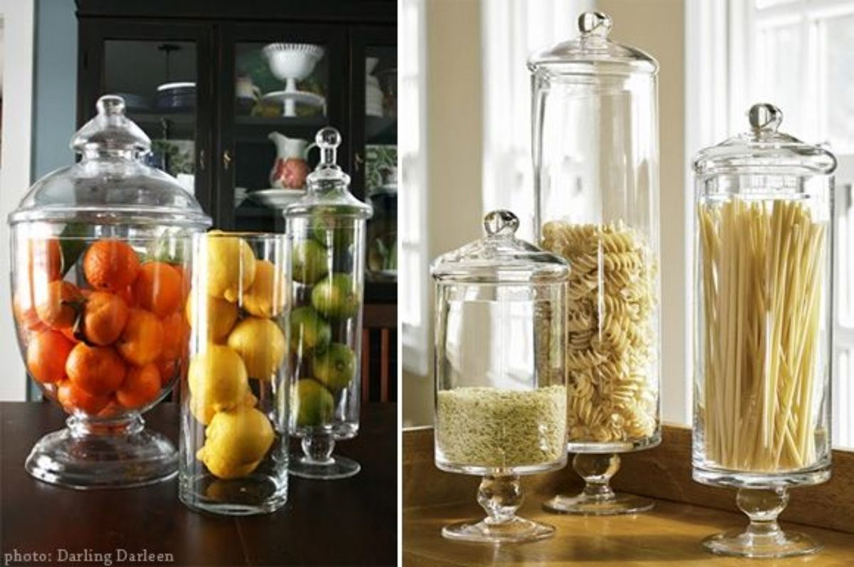 Apothecary Jars In Every Room Apothecary Jars In The Kitchen