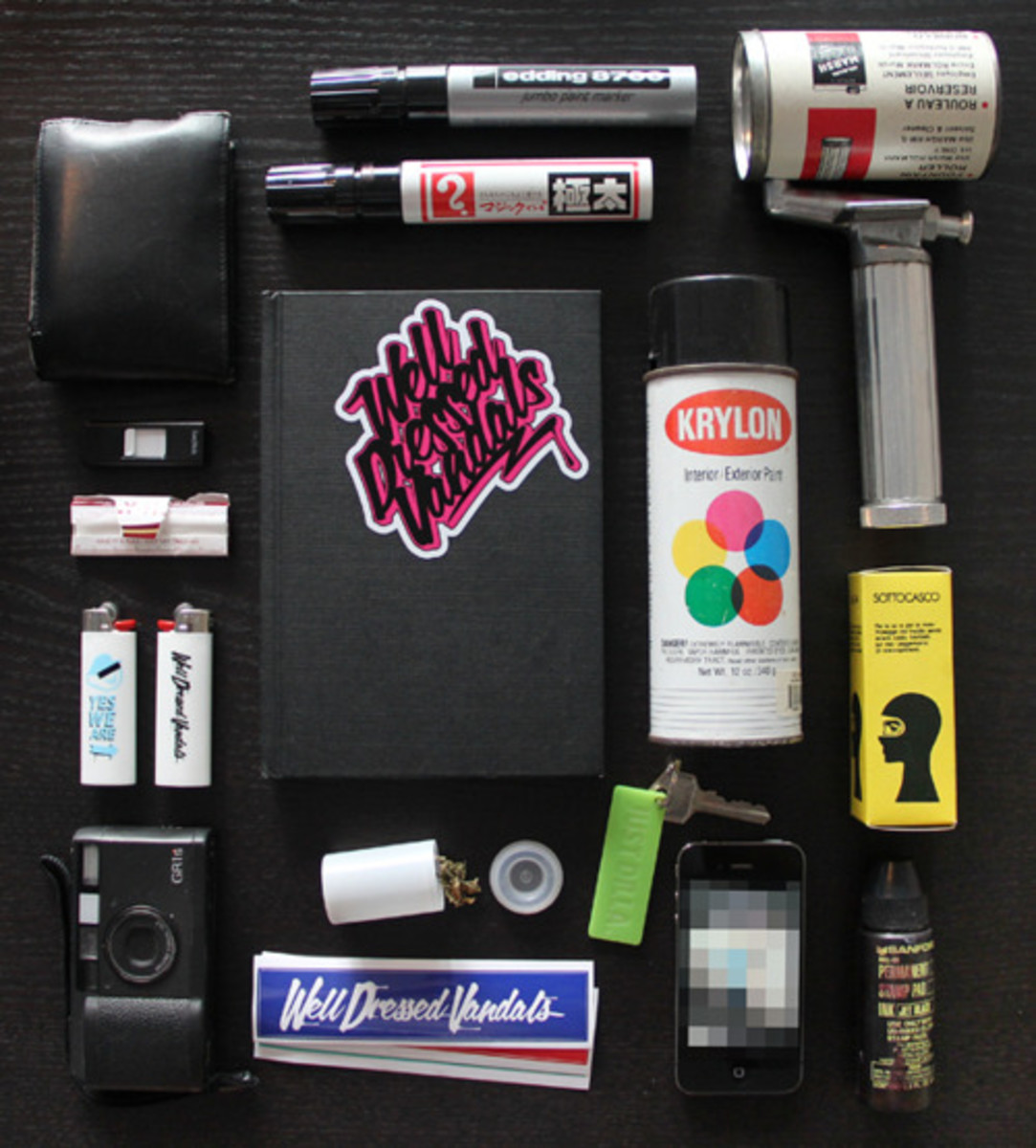 How To Create 3 Simple Graffiti Tools Shoe Polish Mop