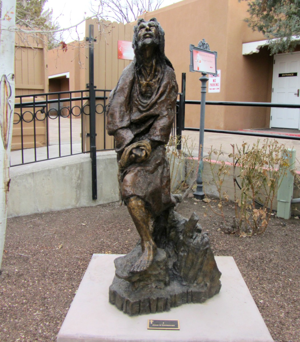 Station I : Jesus is Condemned