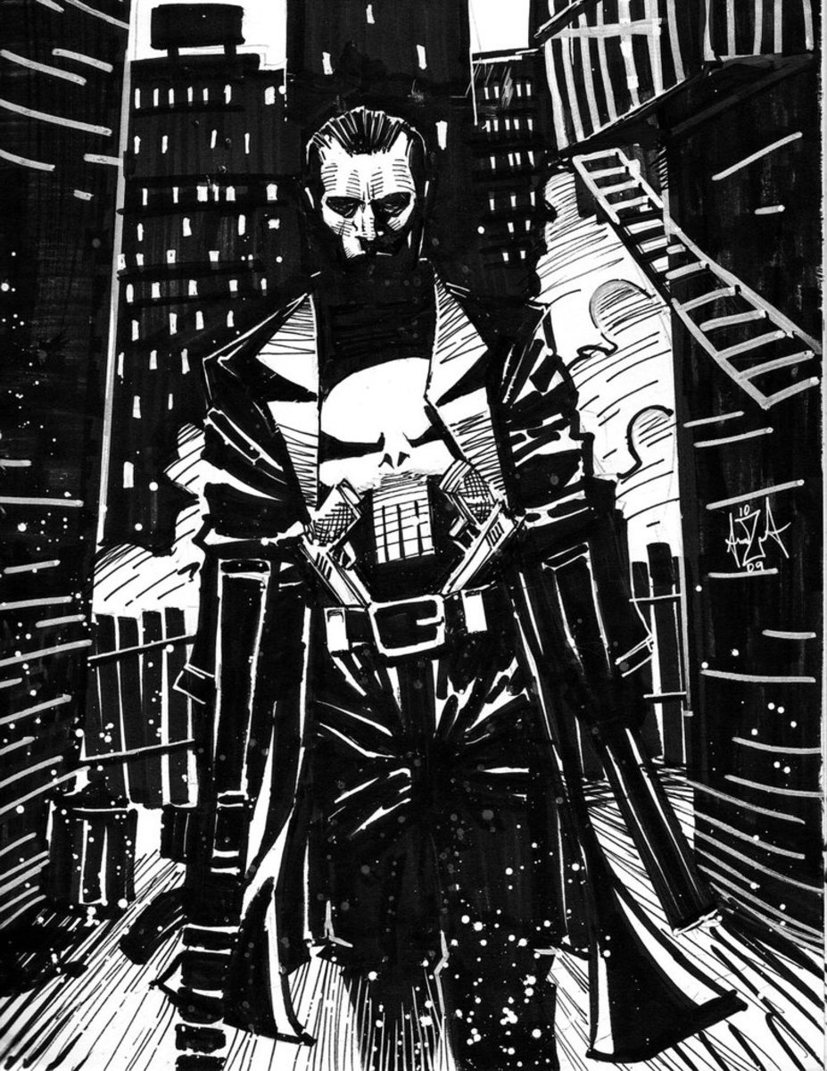 The Punisher, an Archetypal Destroyer Hero