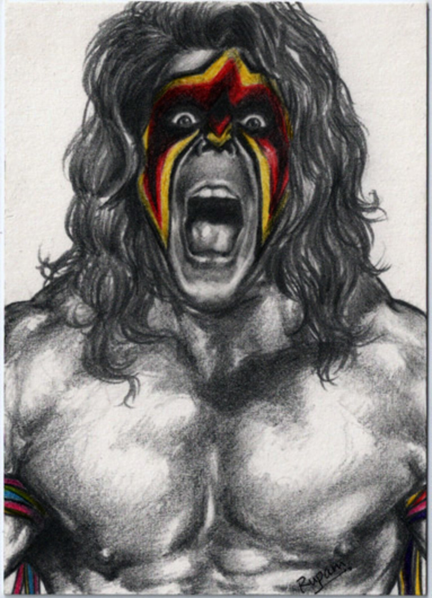 The professional wrestler known as the Ultimate Warrior is an over-the-top example of the Warrior archetype