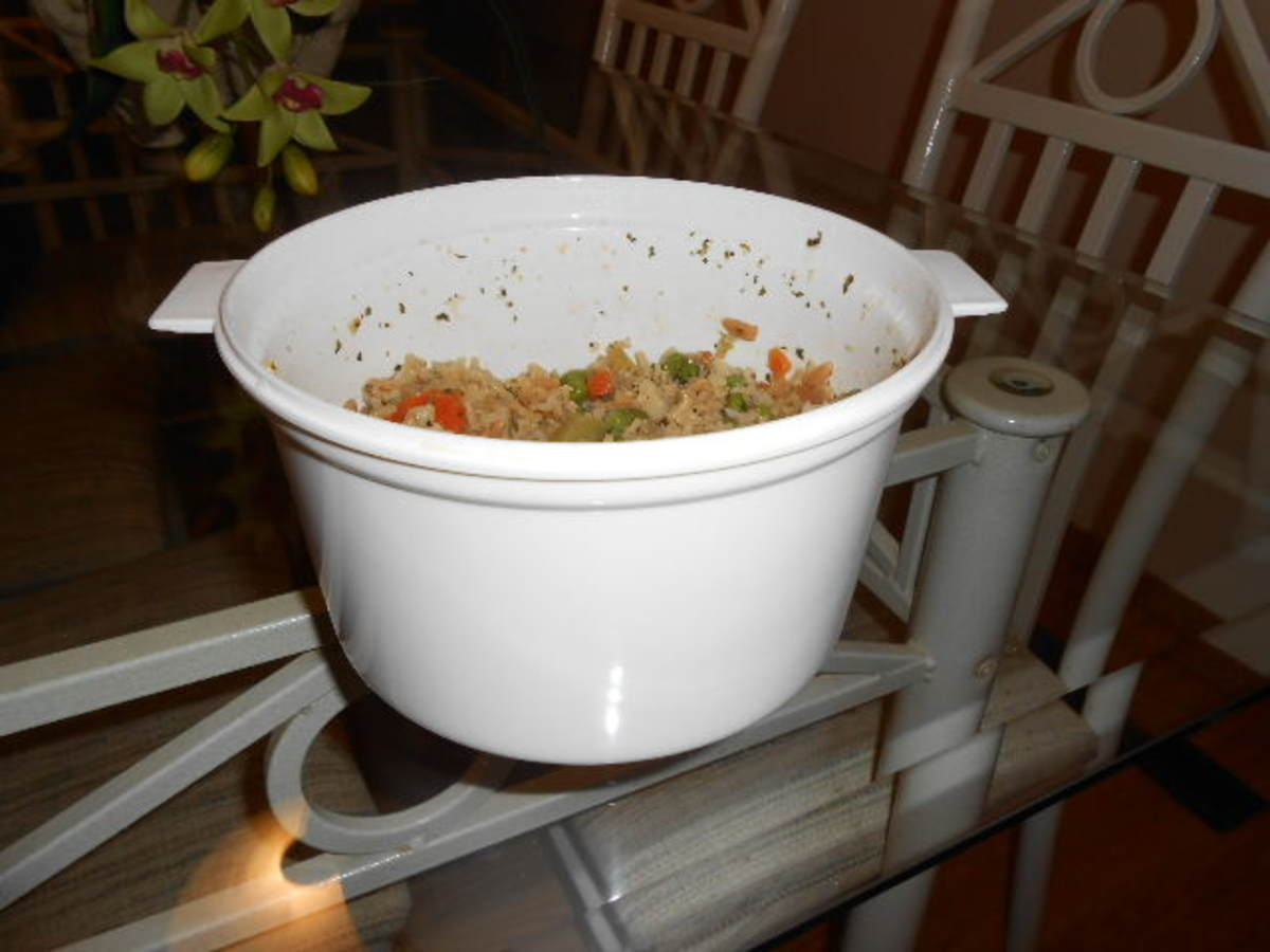 Nordic Ware Microwave Rice Cooker and Steamer Pot Review