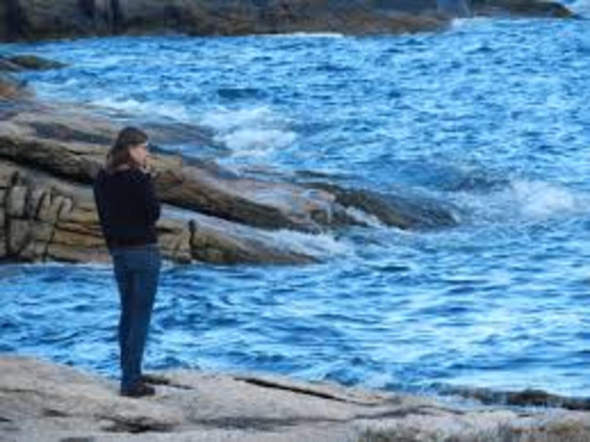 Ocean Point, Maine.