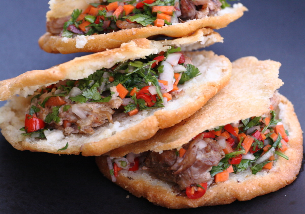 Arepas  stuffed with whatever you want