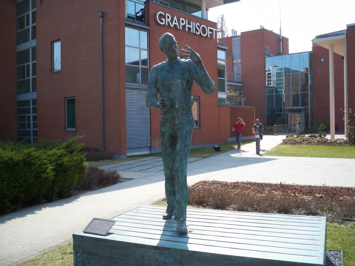Steve Jobs Statue in Budapest