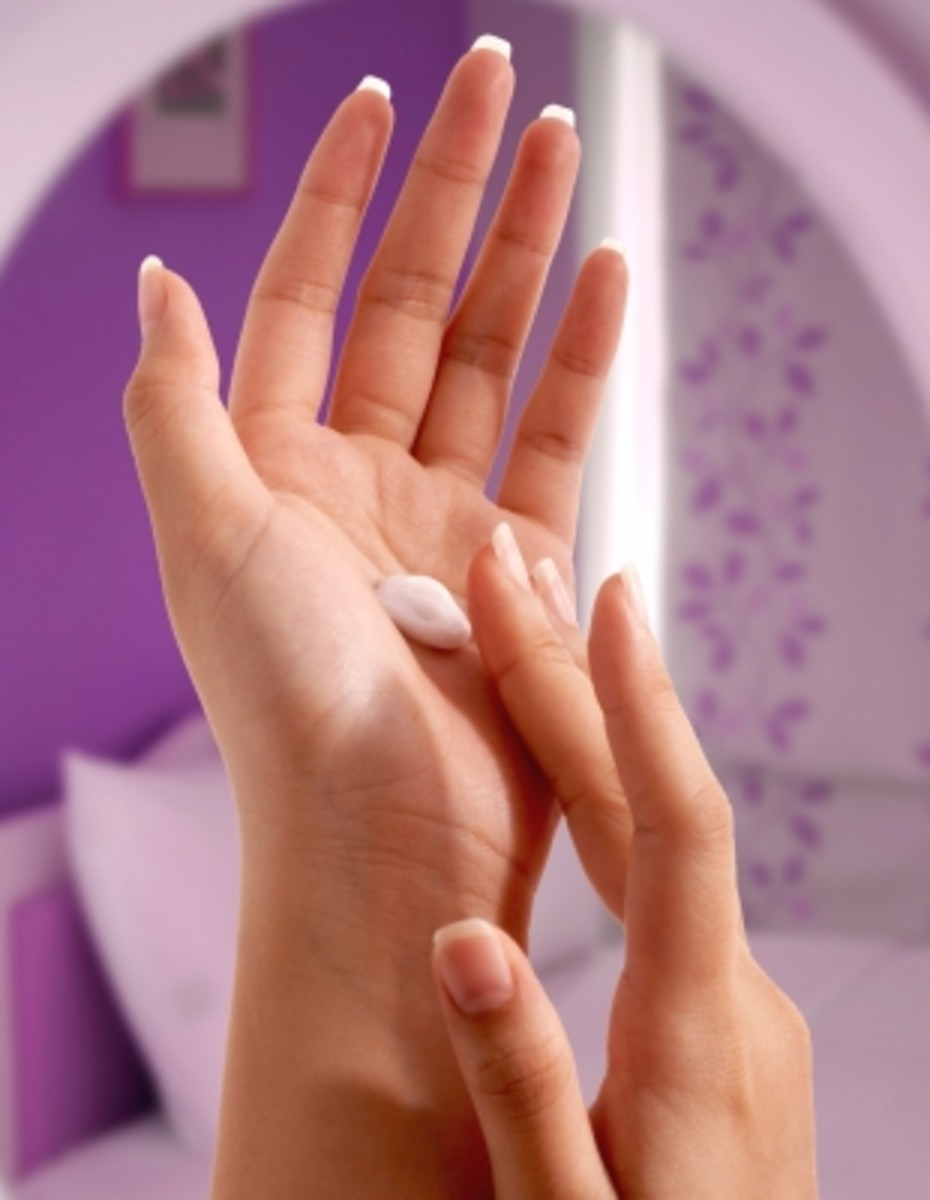 end by applying a nourishing hand cream to keep your new soft hands supple.