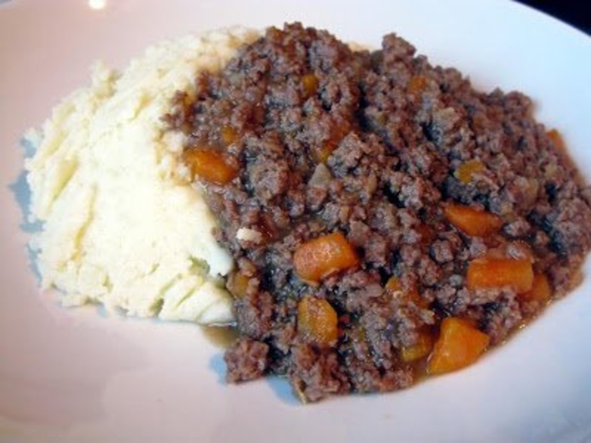 How to make Scottish Mince Stew