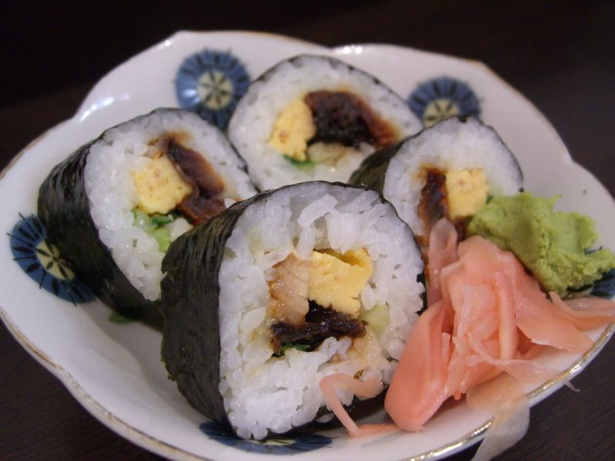 For the sushi newbie, sushi can be a weird cuisine--but it's delicious and you can develop a taste for it!