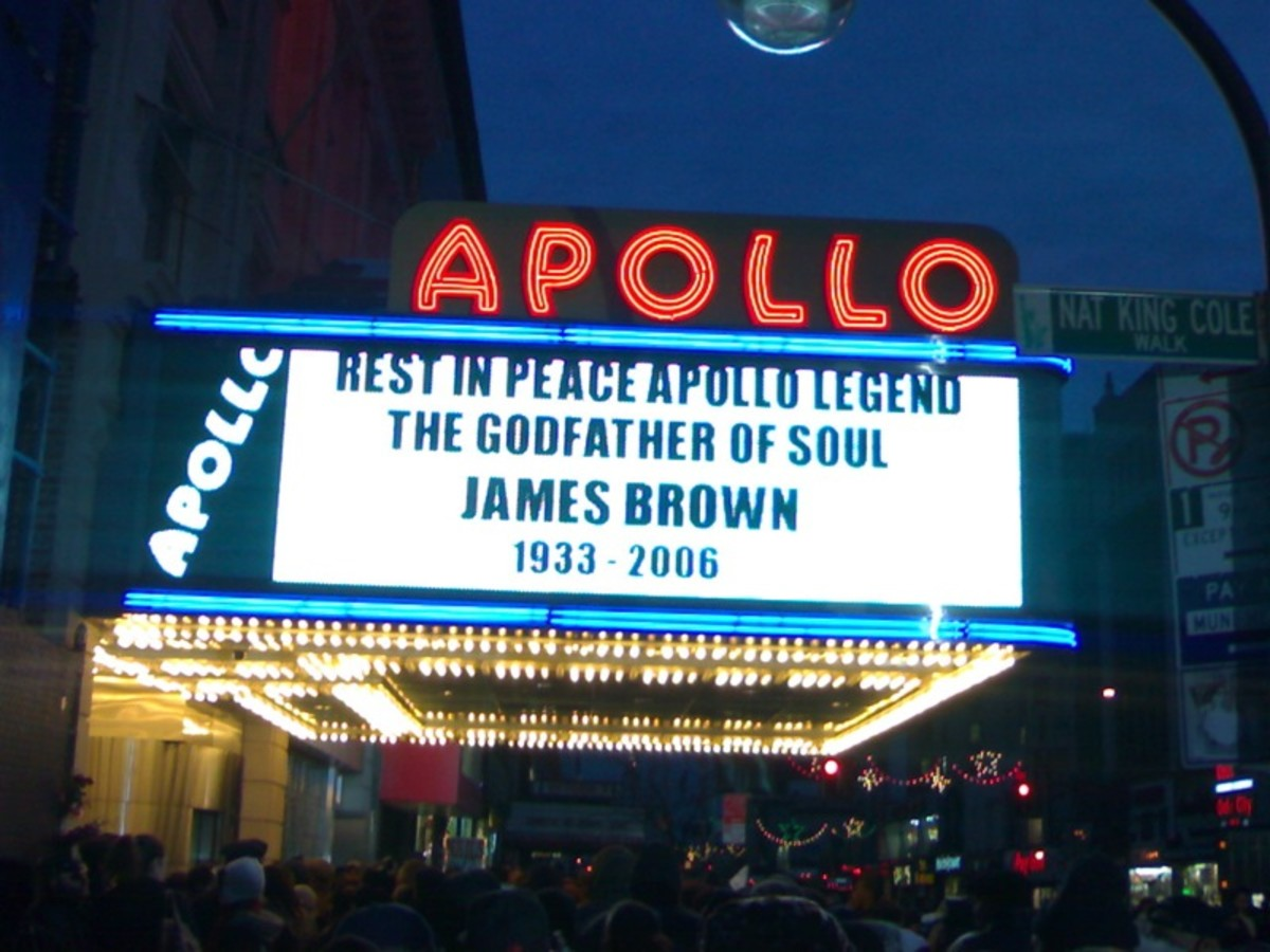 "RIP ""The Godfather of Soul"""
