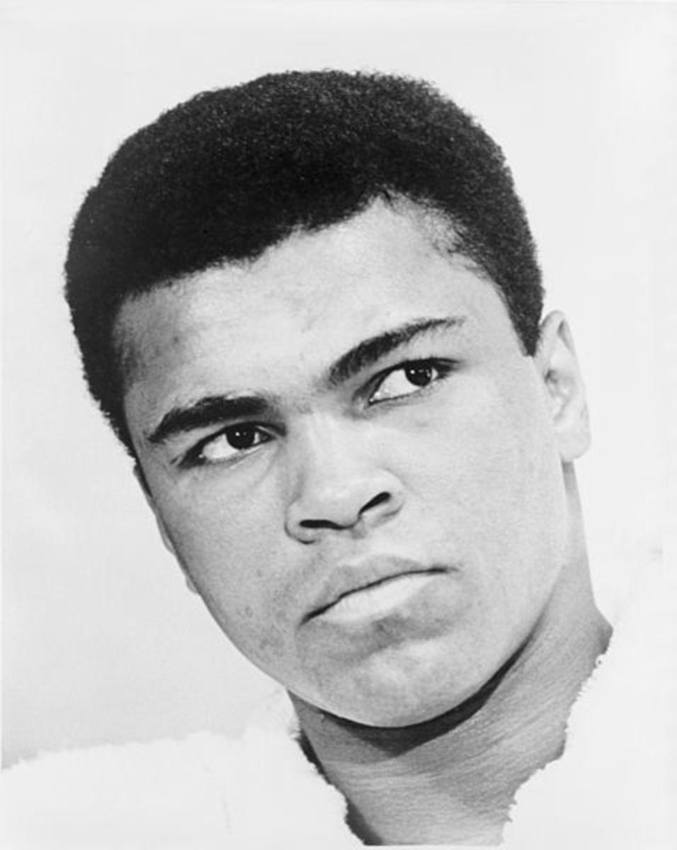 Muhammad Ali, The Black Superman.
