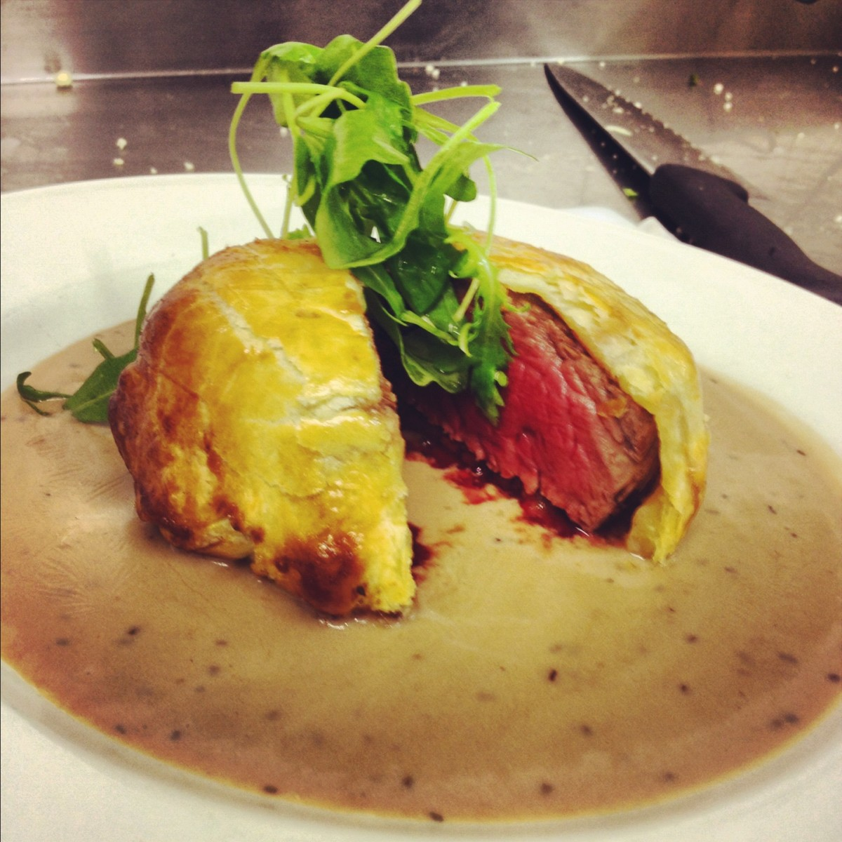 Individual Beef Wellington recipe