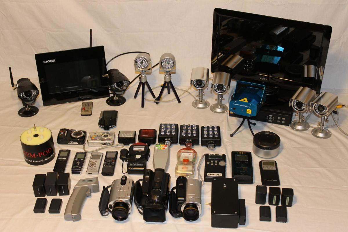 A wide array of equipment