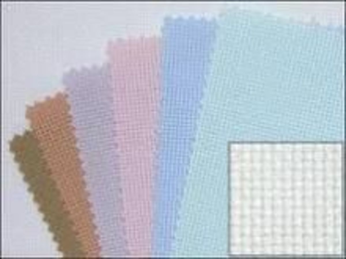 aida cloth colors