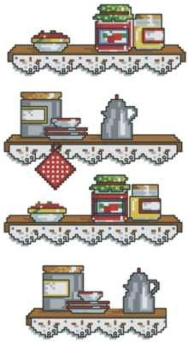 Free Kitchen Cross Stitch Patterns Online