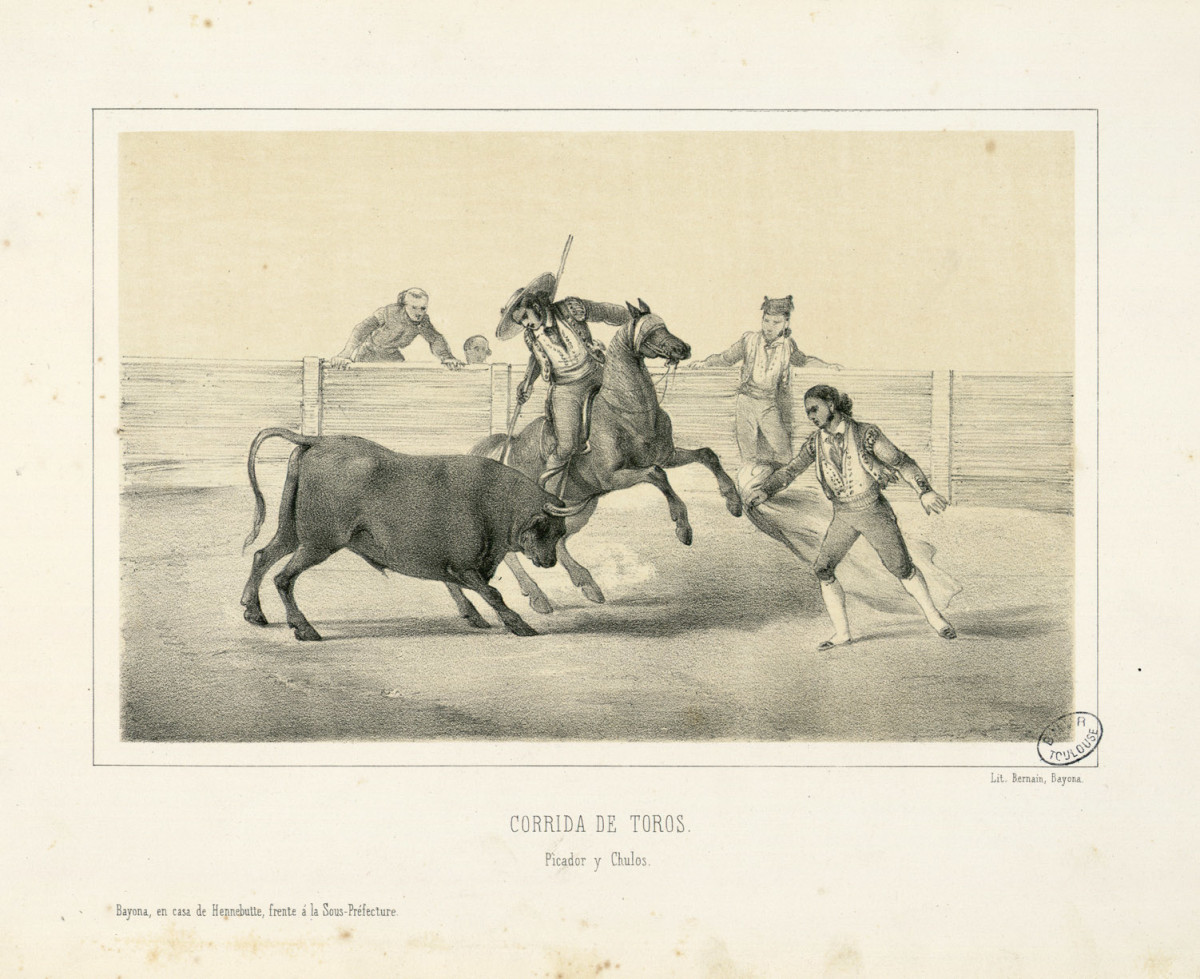 Bullfighting as tradition in 18th Century