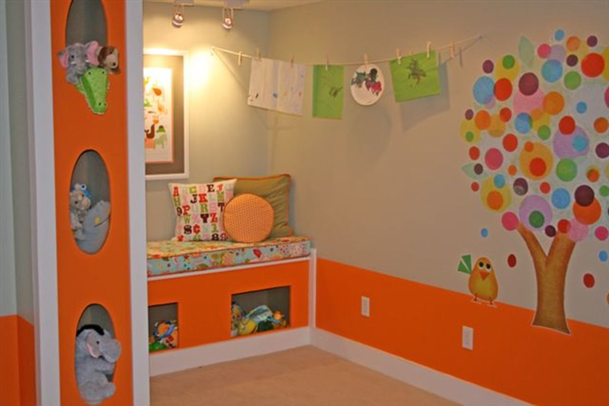 A fun organized happy playroom, fun and exciting.