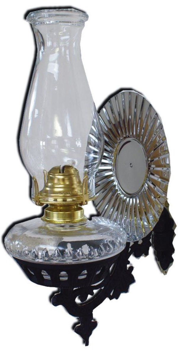 New oil lamps can still be purchased at back-to-basic stores like Cottage Craft Works .com