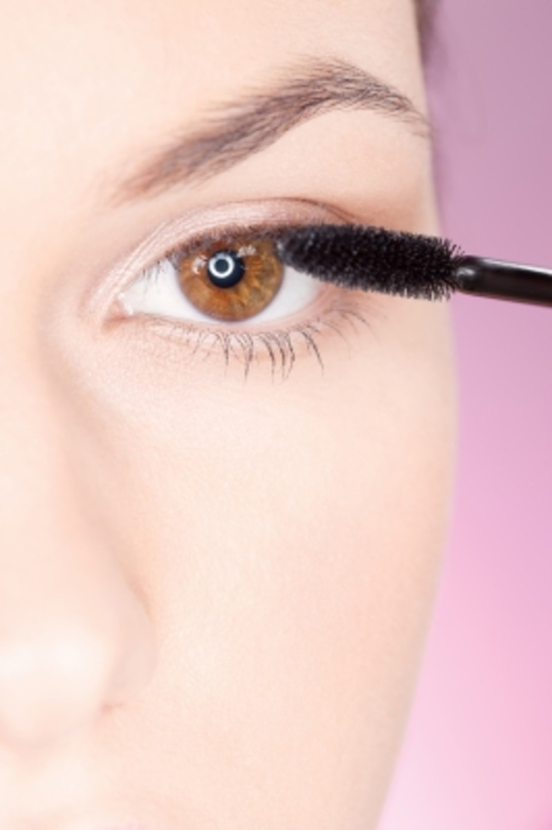 like magic your eyelashes appear after a coat of mascara.