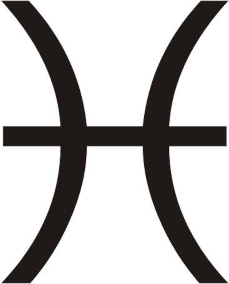 The symbol for Pisces is Two Fish.  Dreamy Pisces Moon sign owners are overly sensitive so tread carefully.