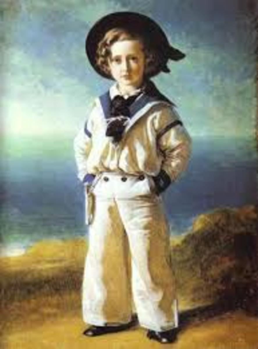 19th Century Sailor boy.
