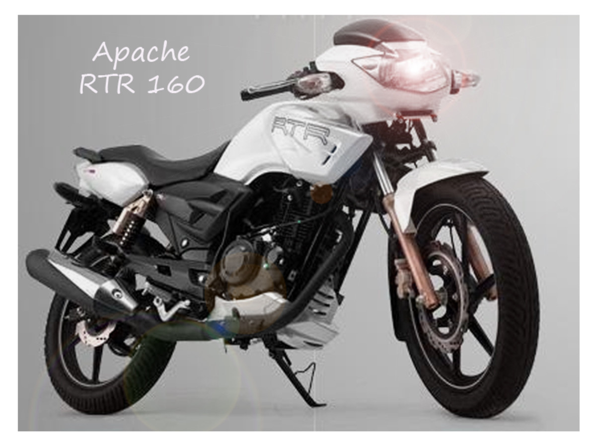 Apache RTR from TVS is one of the best bike of India