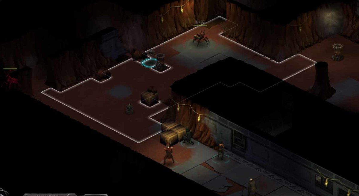Shadowrun Returns the bugs will emerge from walls. The key is to send in the drones and keep the shadowrunners at the back.