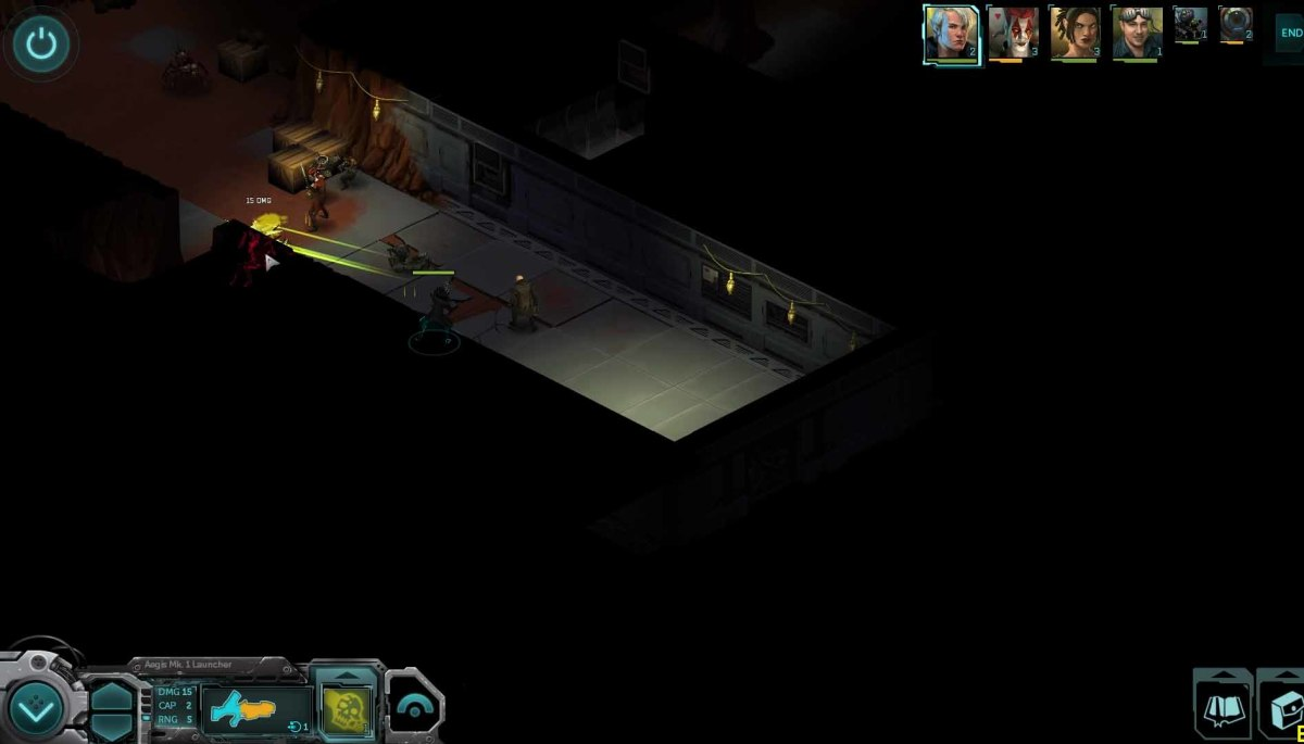Shadowrun Returns Use Aegis Weapons to Destroy the Bugs