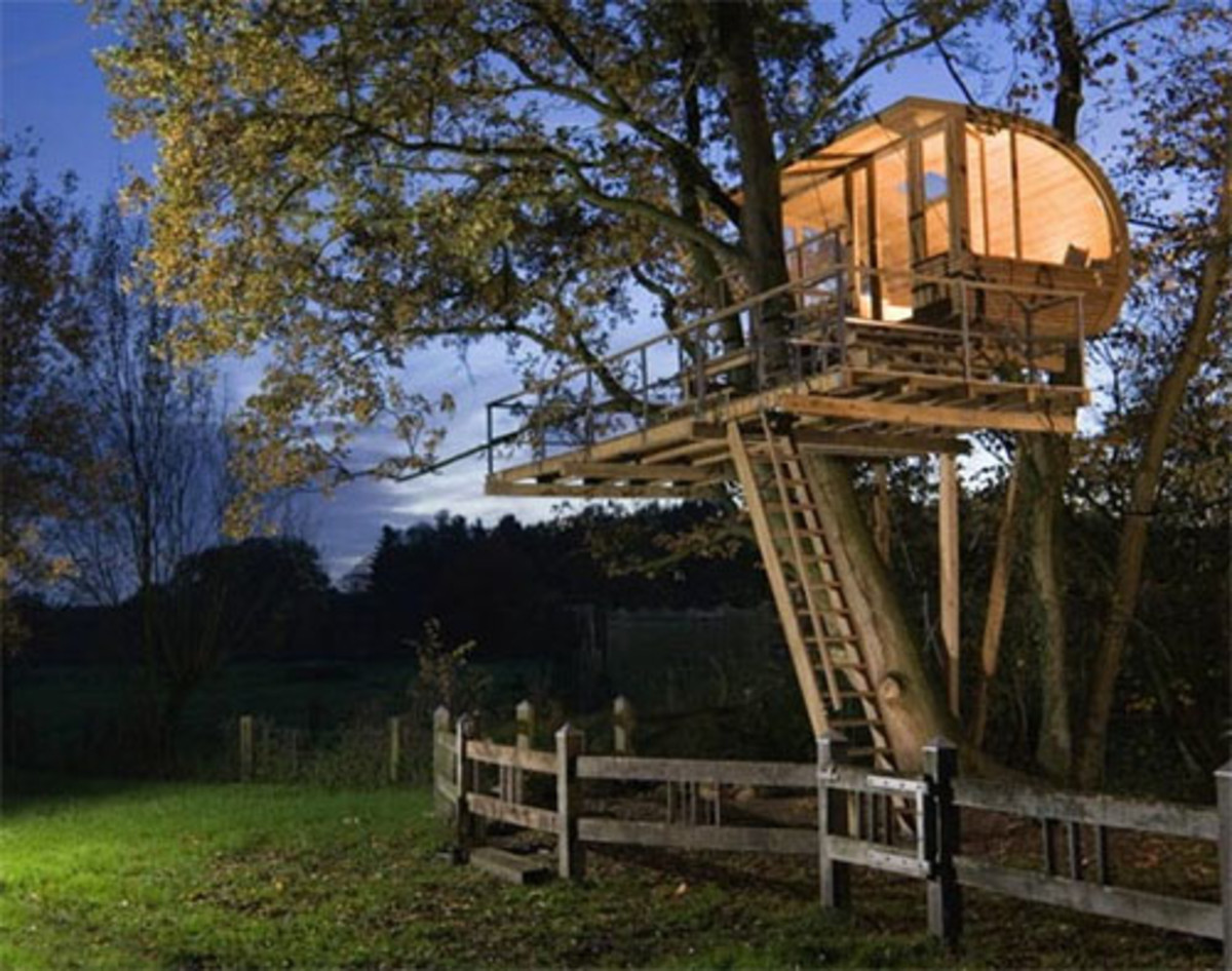 Build a Tree House By Your Own