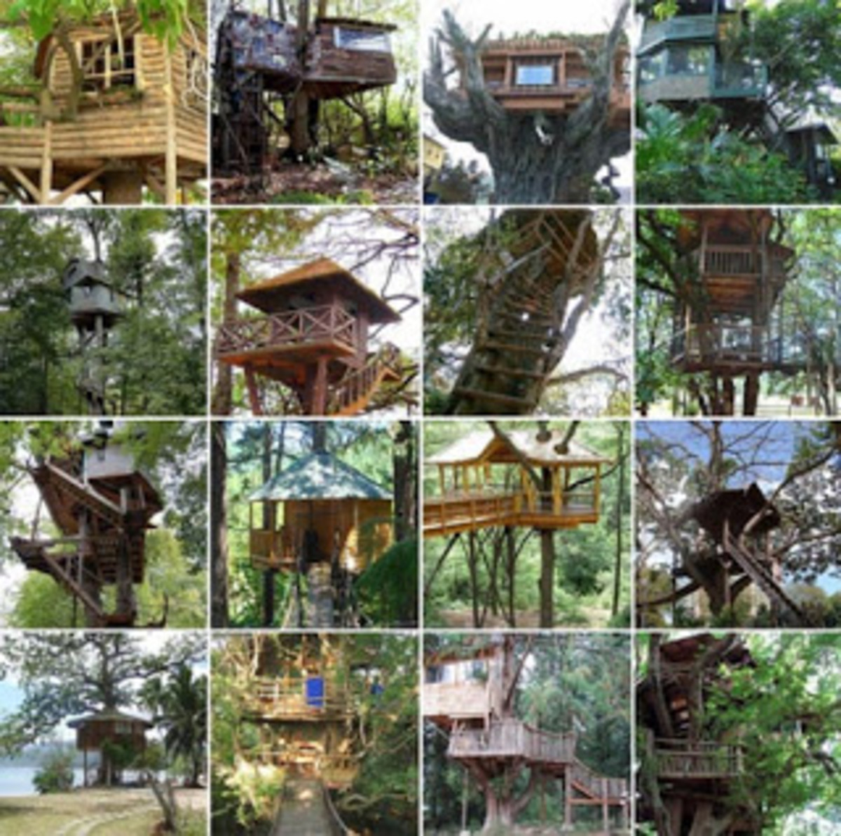 Various Treehouse Designs
