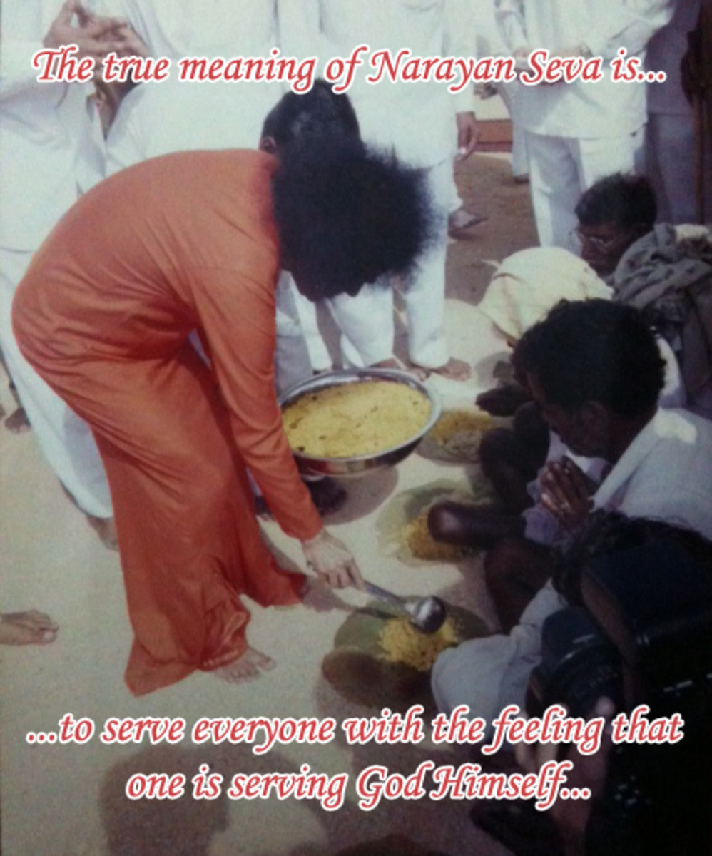 Swami explained the same beautifully in a discourse during His 50th Birthday.