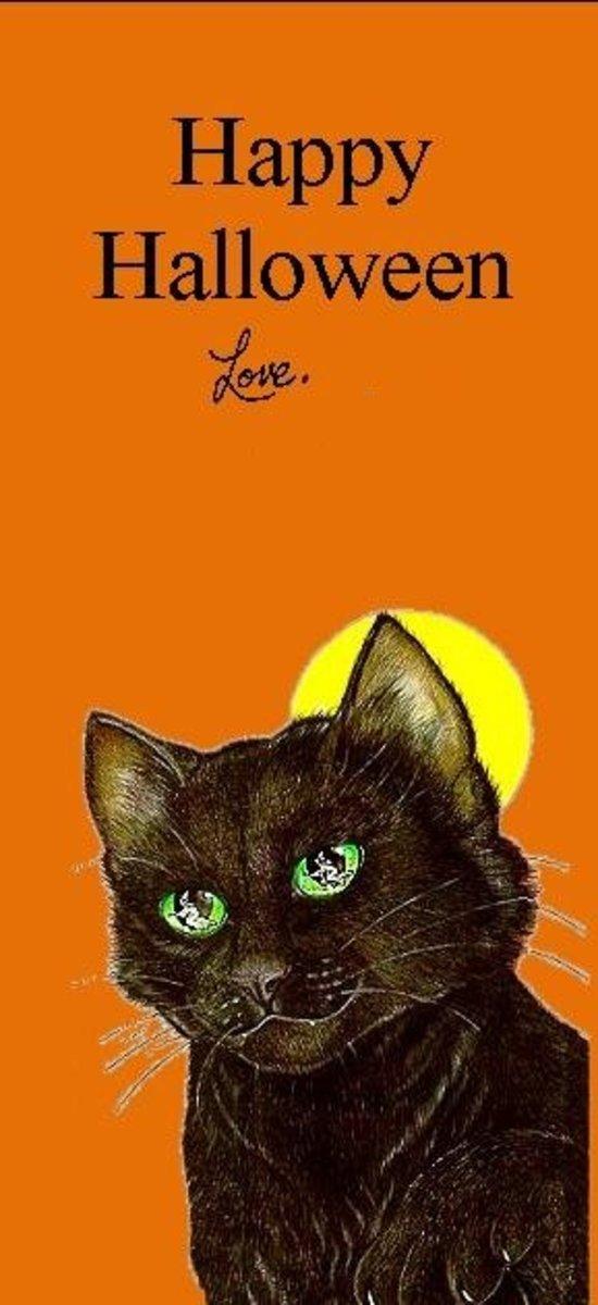 Black Cat bookmark