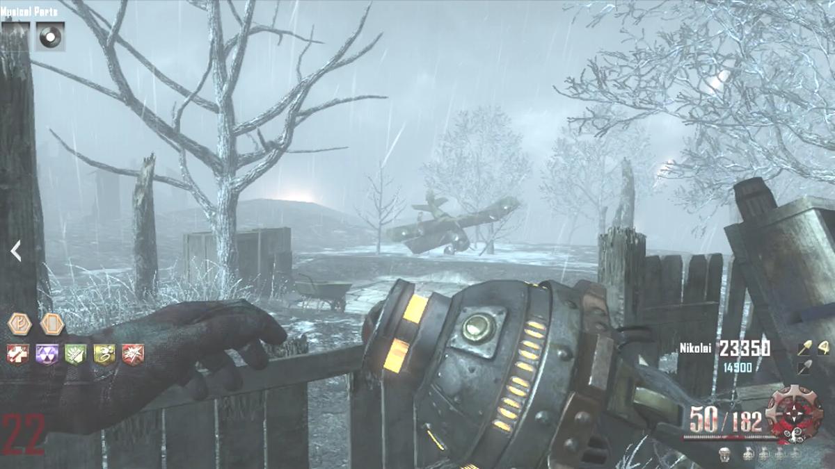 G-Strike Beacon in Origins - Call of Duty: Black Ops 2, Zombies