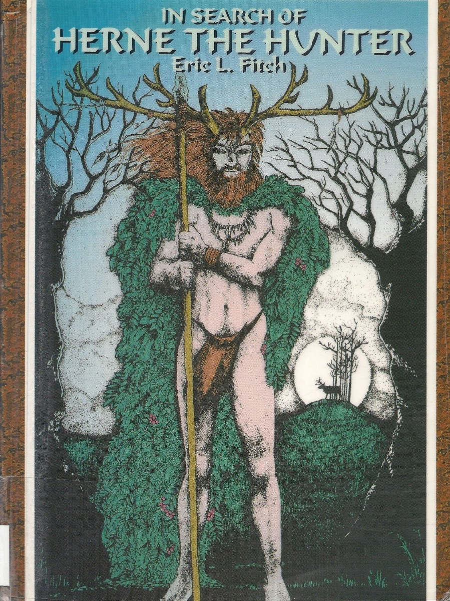 Herne the Hunter, an interesting British Celtic deity (courtesy www.patheos.com) - ladies, don't swoon, you'll only hit your heads on the monitor...