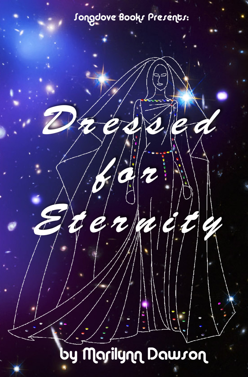 "Front cover for new book: ""Dressed for Eternity"" due out in 2014"