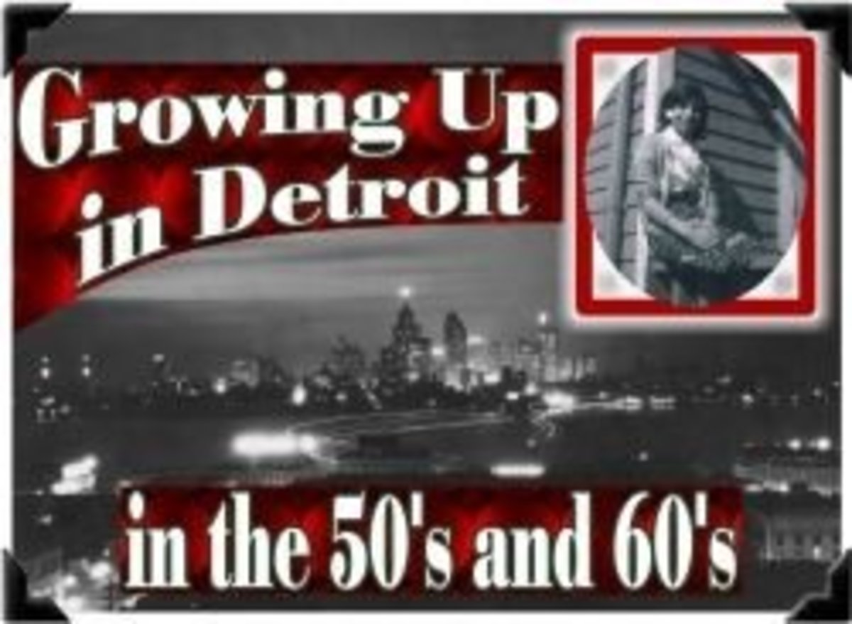 Growing Up in Detroit in the 50s and 60s