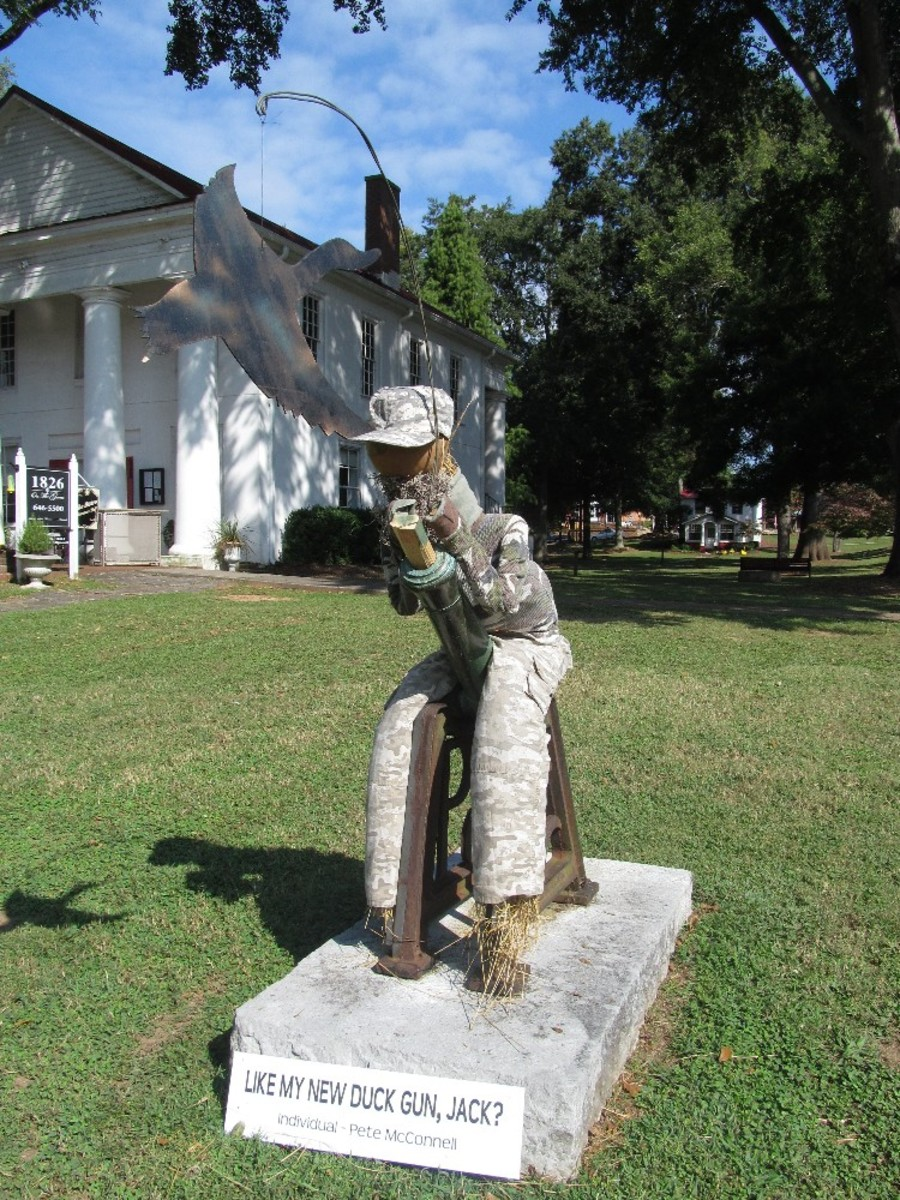 pendleton scarecrow contest pete mcconnell