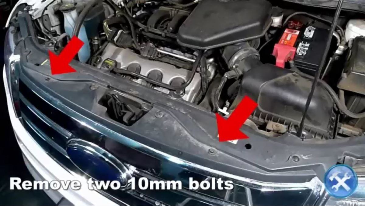 Step  Remove Two Mm Bolts