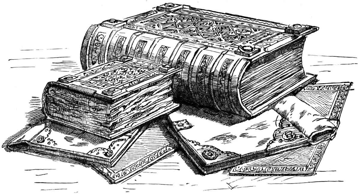 Domesday volumes - there was the main document and Exon Domesday for the western counties