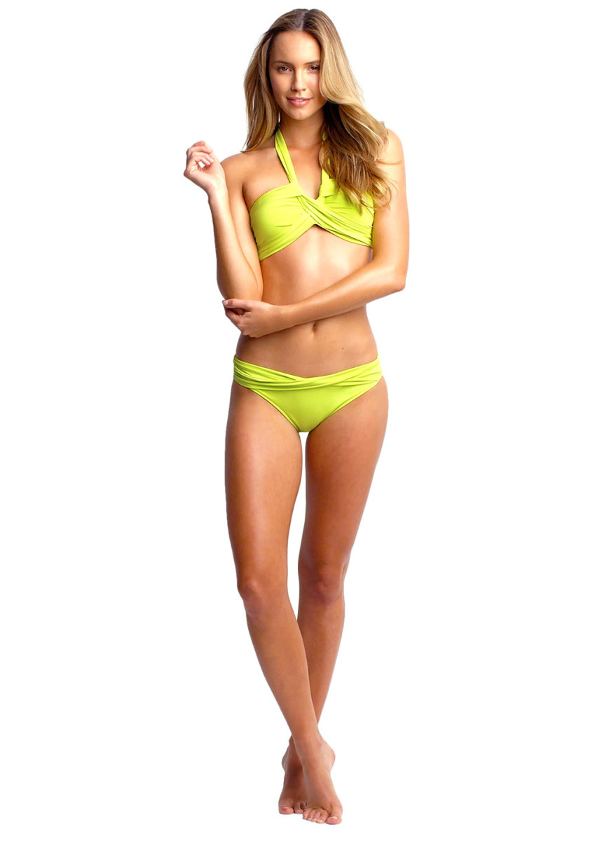 """Goddess Chartreuse"" Neon Bikini"