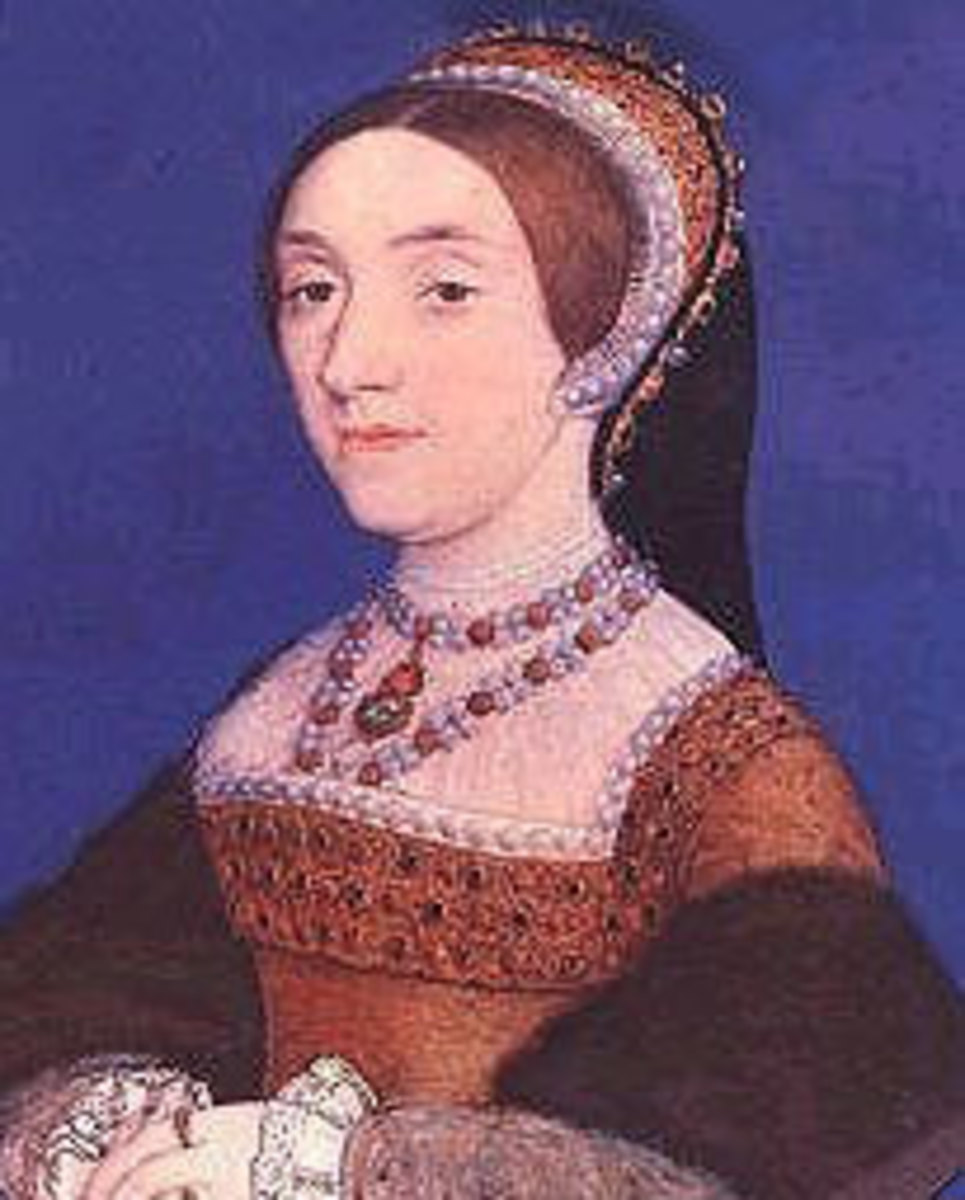 Katherine Howard was executed for her crimes involving Thomas Culpepper and Francis Dereham.