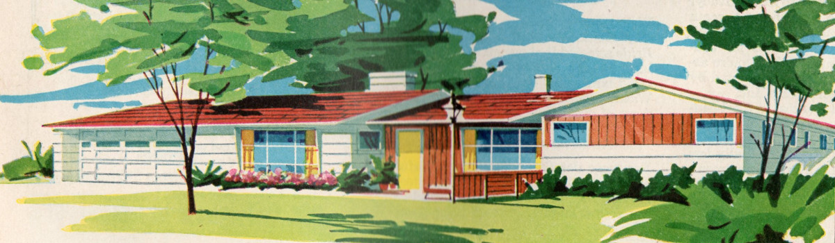 1950s home plan
