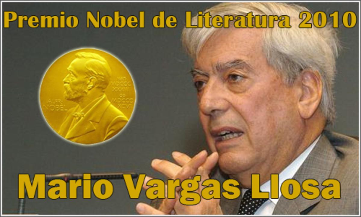 Peruvian-Spanish writer, Mario Vargas Llosa.